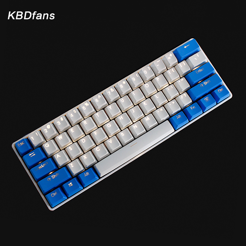 backlit keycaps gh60 poker oem profile rainbow keycaps Valentine's Doubleshot PBT Clear shine-through legends high-quality PBT бра alfa parma 16940