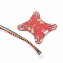 цена на Power Distribution Board PDB Mini for Martian IV inch 4-Axis Carbon Fiber Racing Quadcopter Frame
