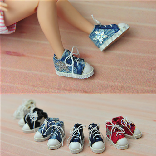 Handmade Doll shoes doll accessories for Blythe OB momoko Pullip Lati toy girl play house