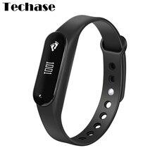 Techase C6 пульсометр Bluetooth спортивные rastreador монитор сердечного ритма cicret браслет PK miband трекер Сенсорный экран