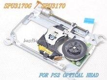 SPU 3170/SPU 3170G IÇIN PS2 lazer lens ile MEKANIZMASı SPU3170 Için PS2 Slim Oyun Konsolu Için SCPH 7500X LAZER KAFASı SPU3170G