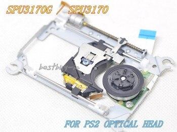 Tüketici Elektroniği'ten DVD ve VCD Oynatıcı'de SPU 3170/SPU 3170G IÇIN PS2 lazer lens ile MEKANIZMASı SPU3170 Için PS2 Slim Oyun Konsolu Için SCPH 7500X LAZER KAFASı SPU3170G