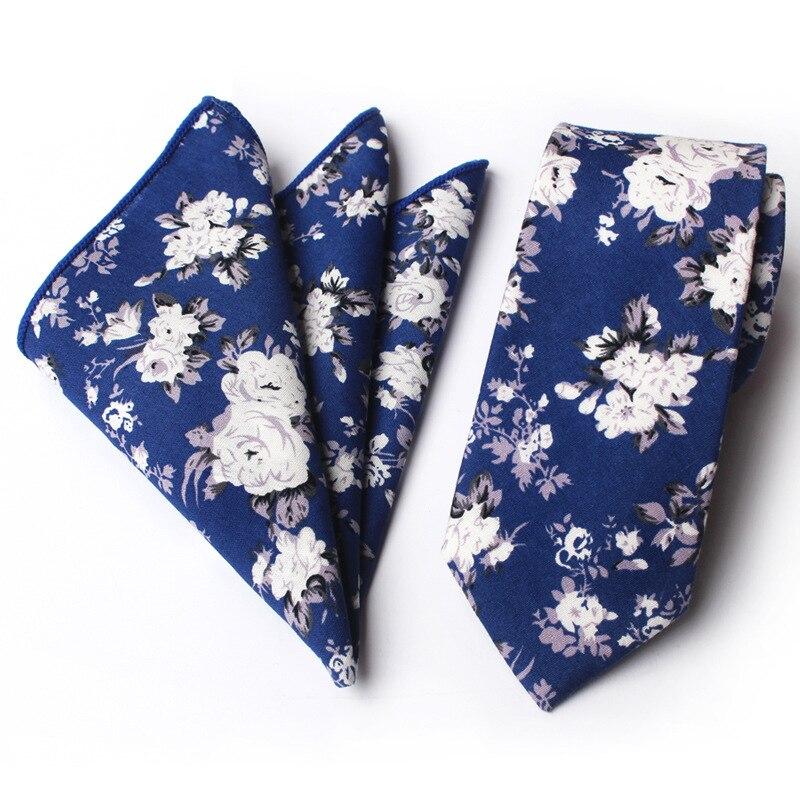 Erkekler için yeni erkek moda bağları kravat seti takım cep kare - Elbise aksesuarları - Fotoğraf 5