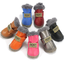 Waterproof Pet Dog Shoes Boots for the Wintertime