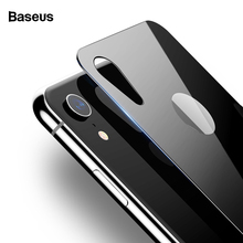 Baseus Back Screen Protector For iPhone XR Tempered Glass 0.3mm Full Curved Rear Protective Film 2018 New