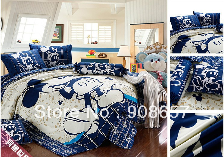 twin full queen king duvet covers cartoon bedding set cute mickey character printed boys childrens girls bed linens 3pcs 4pcstwin full queen king duvet covers cartoon bedding set cute mickey character printed boys childrens girls bed linens 3pcs 4pcs