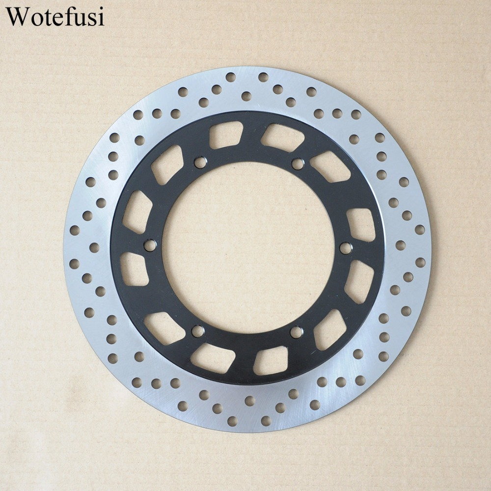 Wotefusi Front Brake Rotor Disc For Yamaha TZR 50 SRV 250 XV 125 250 750 1100 Virago 1994 95 96 97 98 1999 [PA194] front brake disc rotor for yamaha xvz 1300 royal star venture s mm midnight xv 1600 road a limited edition silverado wild