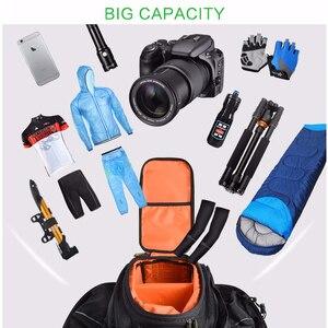 Image 4 - Сумка на заднее сиденье велосипеда ROCKBROS, рюкзак для багажника, велосипедная сумка для горного велосипеда, посылка на багажник, вместительные Аксессуары для велосипеда