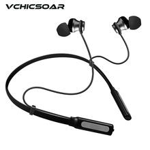 Cheap price Vchicsoar HK79 Sport Bluetooth Headphones Wireless Headset CSR4.1 Stereo Noise Reduction Magnetic Earphones with Mic for iPhone