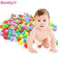 [Bainily] 50 unids/set 8 cm alta calidad colorida bobo piscina de plástico blando océano bolas soft océano bola plástica del bebé kid swim pit toys