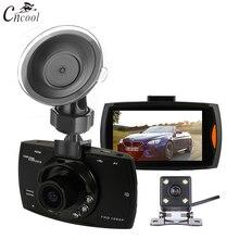 Cncool двойная камера s Автомобильный dvr G30 Dash Cam Full HD 1080 P видео рекордер регистратор с резервной камерой заднего вида камера ночного видения DVRs