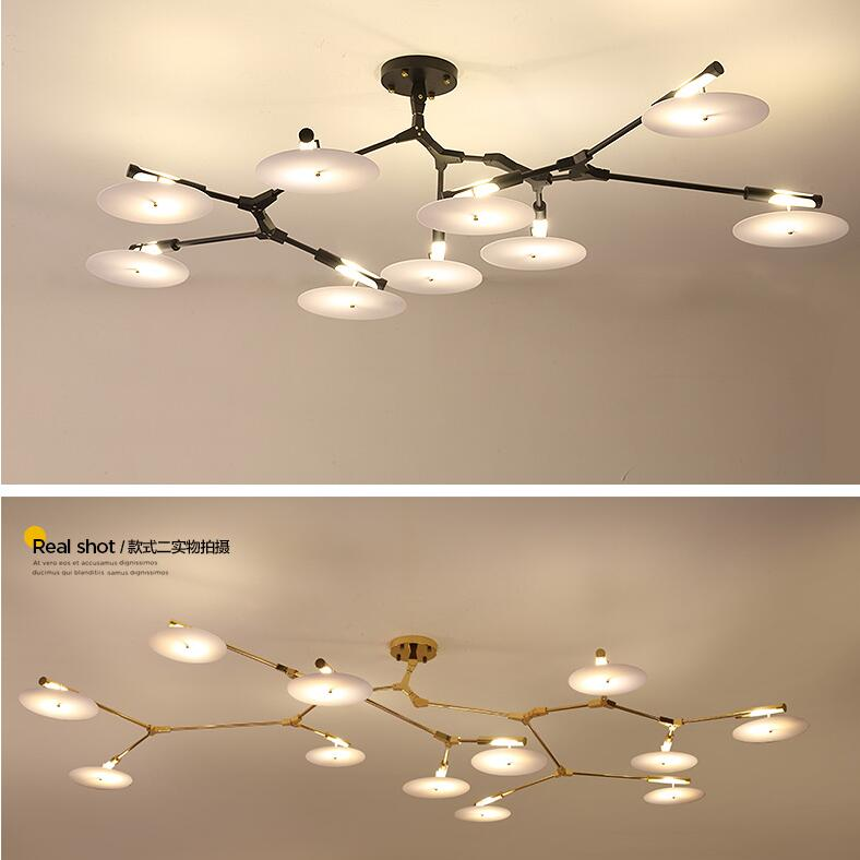 Plafondverlichting Glas Vintage Molecular Glass Lindsey Adelman Suspension Ceiling