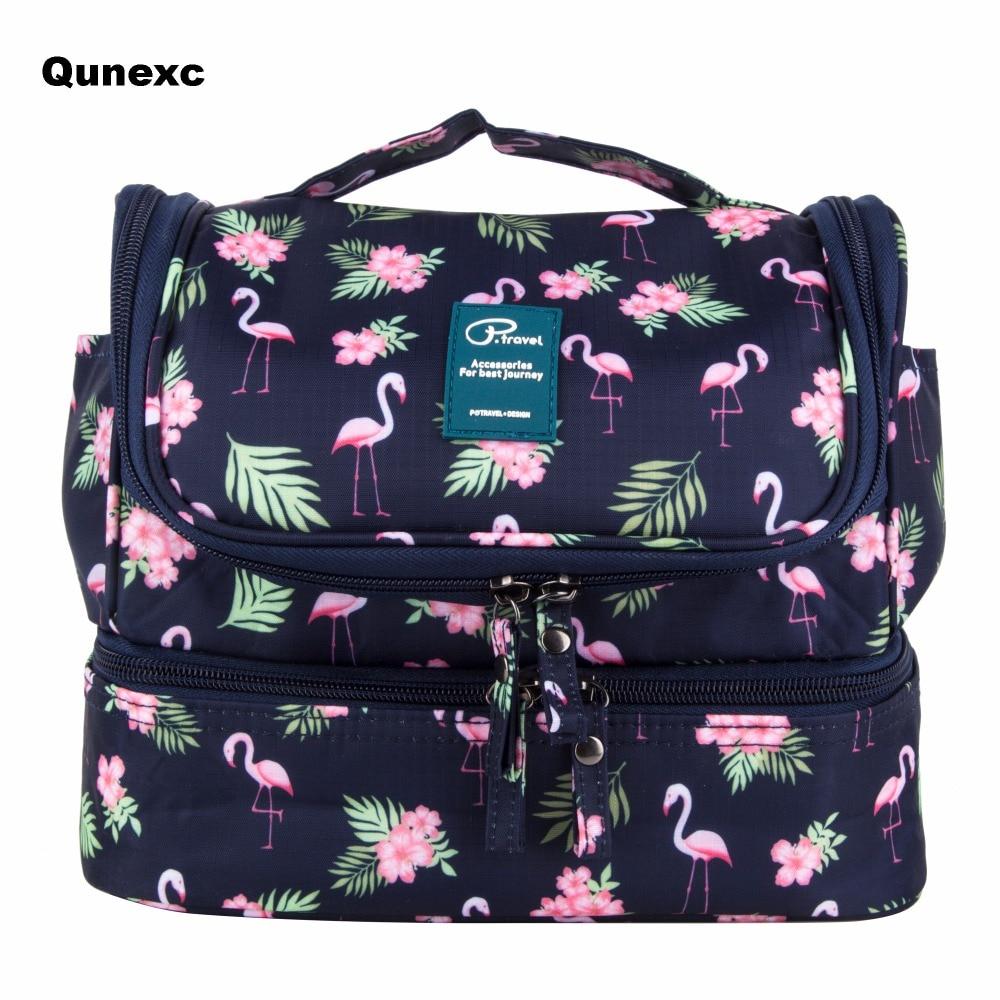Flamingo Wc Tasche Frauen Wc Fall Reise Wc Taschen Organizer Kosmetische Veranstalter Kosmetische Fall Kosmetische Box