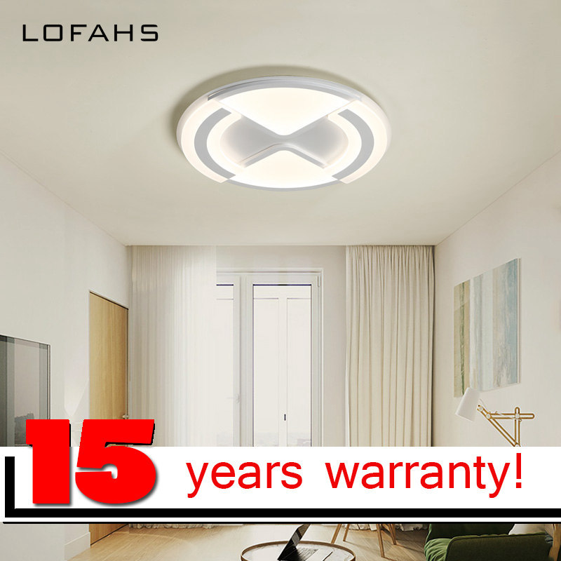 LOFAHS Modern LED ceiling lights for living dining room bedroom study with remote dimmable ceiling lamp fixtures noosion modern led ceiling lamp for bedroom room black and white color with crystal plafon techo iluminacion lustre de plafond