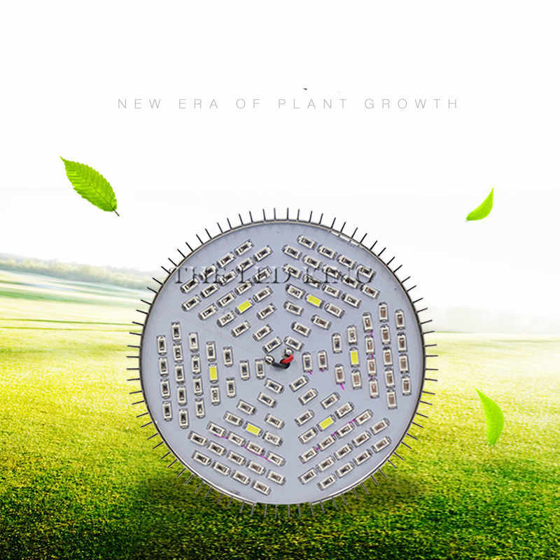 1X 4X 10X 120W E27 GU10 SMD5730 LED Grow Lights 18 leds 12Red+6Blue Lamp for Flower Plant Hydroponics Light AC85-265V