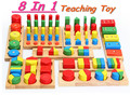 Free shipping! Baby Toys Educational Wooden Toy Montessori Block Toys Building Block Toys gift