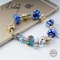 Destino Jóias Embelezado com cristais de Swarovski pulseira Multi-combinação Pulseira DB0090