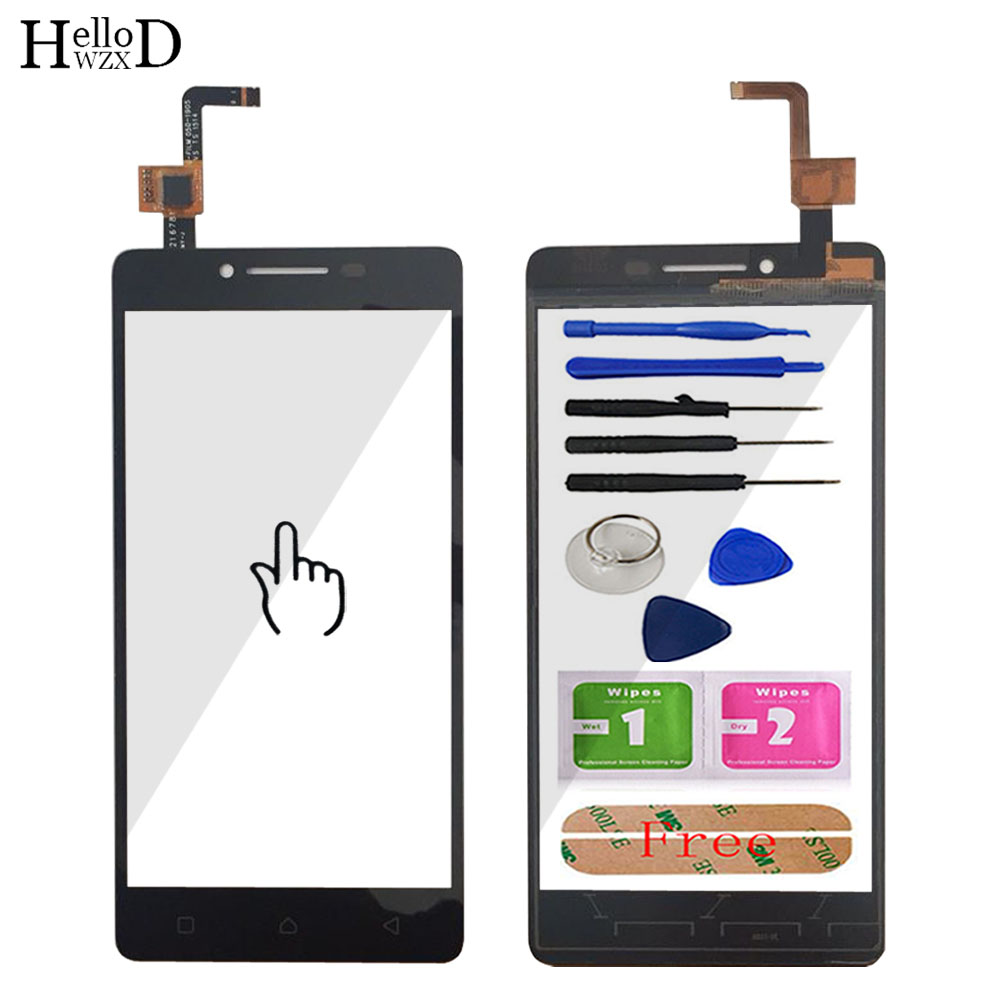 5 ''<font><b>A6000</b></font> Mobile Touch Screen Glas Für <font><b>Lenovo</b></font> <font><b>A6000</b></font> K3 K30t Front Touch Screen Glas <font><b>Digitizer</b></font> Panel Sensor Werkzeuge klebstoff image