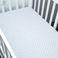 2017 Fashion Comfort 100 Cotton Solid Soft Baby Mattress Covered With Single Bed Sheet Children Bed