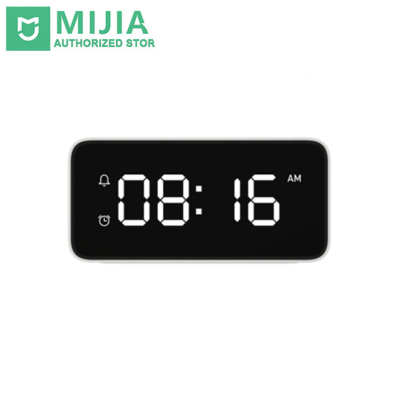 New Original Xiaomi mijia xiaoai Smart Voice Broadcast Alarm Clock work with WiFi and Bluetooth Wireless mi home app image