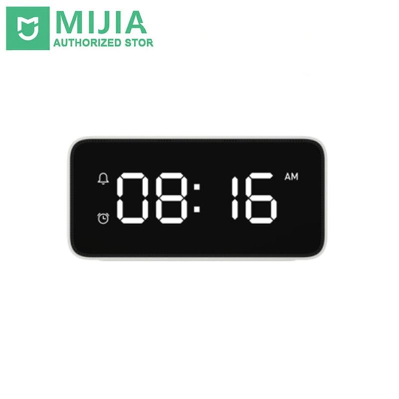 New Original Xiaomi mijia xiaoai Smart Voice Broadcast Alarm Clock work with WiFi and Bluetooth Wireless mi home app