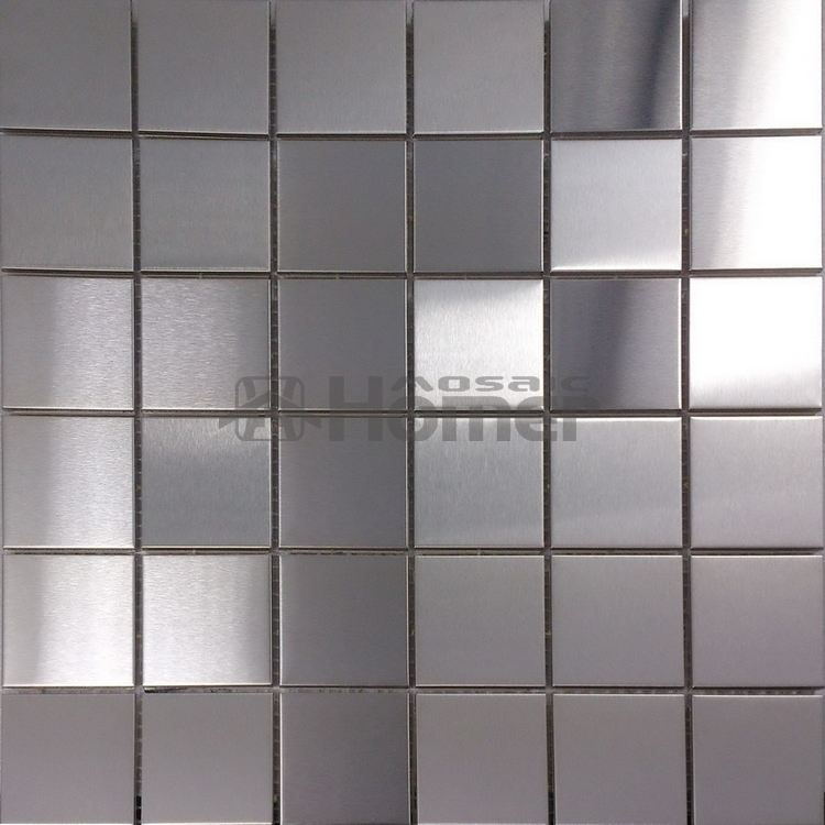 Free Shipping Metal Wall Mosaic Tile For Bathroom Kitchen