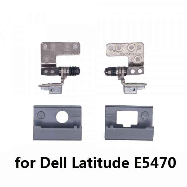 New Original for <font><b>Dell</b></font> <font><b>Latitude</b></font> <font><b>E5470</b></font> LCD Panel Hinges / Hinge Cover NKHKV 0NKHKV 00NCVX 0NCVX 0KG40V 017VCP for non-touch image