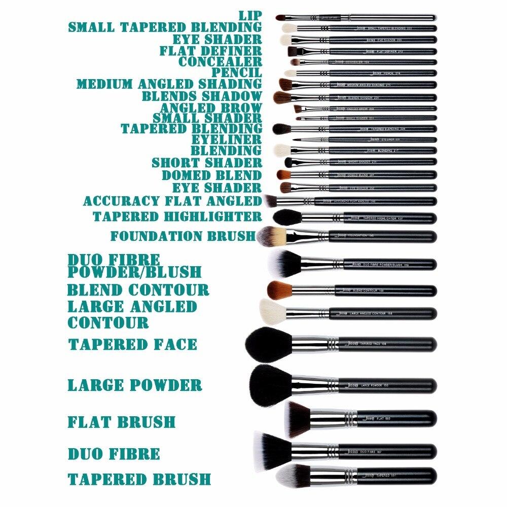 Набор кистей для макияжа YAVAY 32 шт., набор кистей для макияжа из мягкой козьей шерсти Taklon, набор кистей для профессионального макияжа - 6