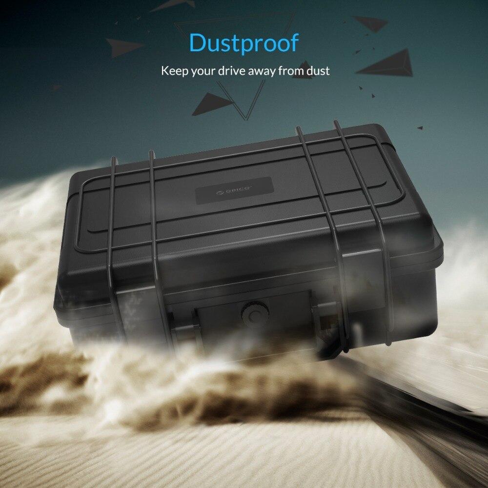 Boîtier de Protection ORICO 20 baies 3.5 pouces pour disque dur avec stockage et Protection HDD étanche à la poussière et aux chocs (PSC-L20) - 3