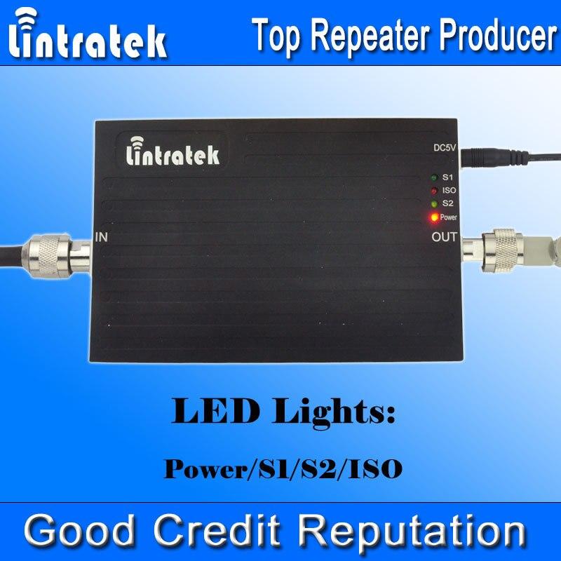 Répéteur de Signal Lintratek 900 1800 amplificateur de Signal 2G + 4G LTE amplificateur de Signal GSM 900 1800 mhz amplificateur de Signal double bande Kit complet #50 - 5