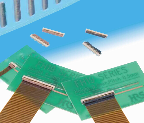 FH19C-34S-0.5SH HRS Hirose connector 0.5mm pitch 34pin original Continued on