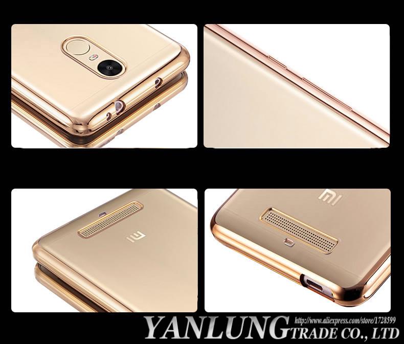 Wyczyść Miękka TPU Phone Case dla Xiaomi Redmi Uwaga 4X4 3 Pro Prime 3 s 3x dla Xiaomi mi5 mi6 4a 6 mi5s Plus mi4c mix max 2 5c Okładka 14