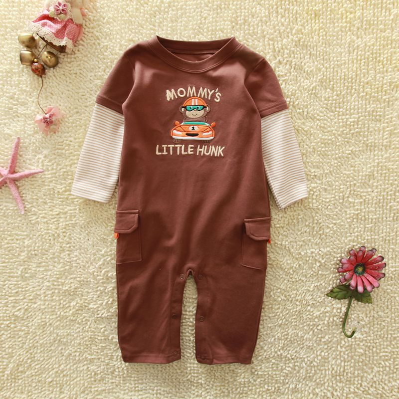 2013 spring new style baby suit  cotton Good quality romper  baby boys sport rompers long  sleeve one-piece jumpsuit dr0006-25 newborn baby rompers baby clothing 100% cotton infant jumpsuit ropa bebe long sleeve girl boys rompers costumes baby romper