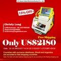 Great Promotion For New SEC-E9 automatic key cutting machine  portable smart duplicate car key cutting machine