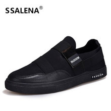 Men Vulcanize Shoes Man Slip On Lightweight Fashion Sneakers Male Leisure Breathable Single Shoes Size Eu 39-44 AA50229