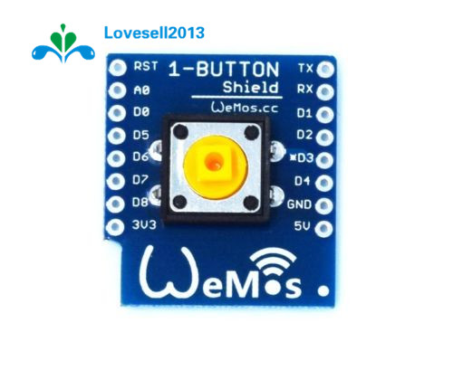 One Button Shield For WeMos D1 Mini Button