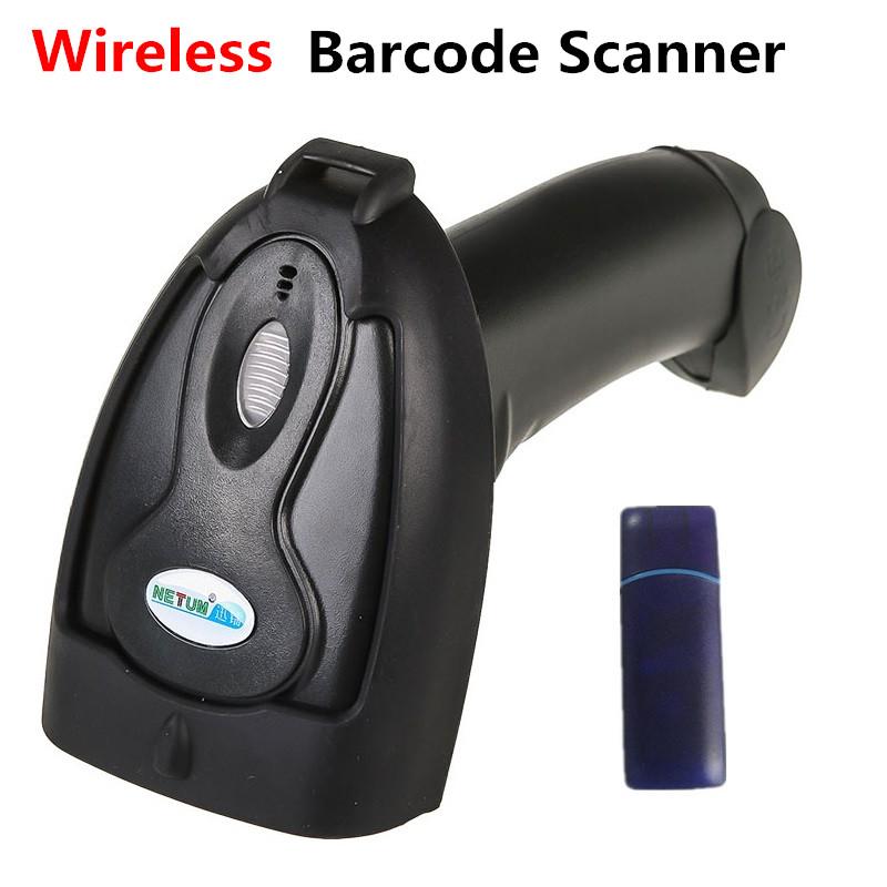Prix pour Sans fil Barcode Scanner pour Supermarché de Détail Magasins Express Bar code Lecteur Sans Fil Laser Barcode Gun