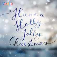 Yeele Christmas Photocall Decors Bokeh Lights Snow Photography Backdrops Personalized Photographic Backgrounds For Photo Studio