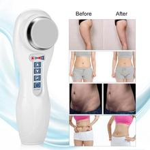 LED Ultrasonic Body Slimming Anti Cellulite strument Wrinkle Smoothing Acne Remover Face Lift Facial Skin Care Device Machine
