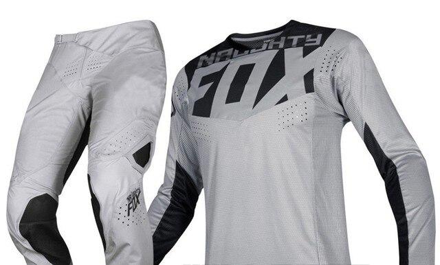 NEW 2019 NAUGHTY FOX MX Racing Mens Grey 360 Kila Dirt Bike Jersey & Pants Kit Combo ATV Offroad MX/ATV Dirt Bike