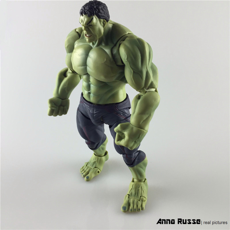 Avengers SHF S.H.Figuarts Hulk Brinquedos PVC Action Figure Anime Juguetes Collectible Model Doll Kids Toys 19cm anime lovely danboard danbo doll juguetes pvc action figure brinquedos kids toys with led light 13cm collection model 2styles