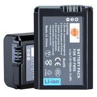 DSTE 2pcs NP FW50 Battery For Sony NEX 7 NEX 5N NEX F3 SLT A37 A7