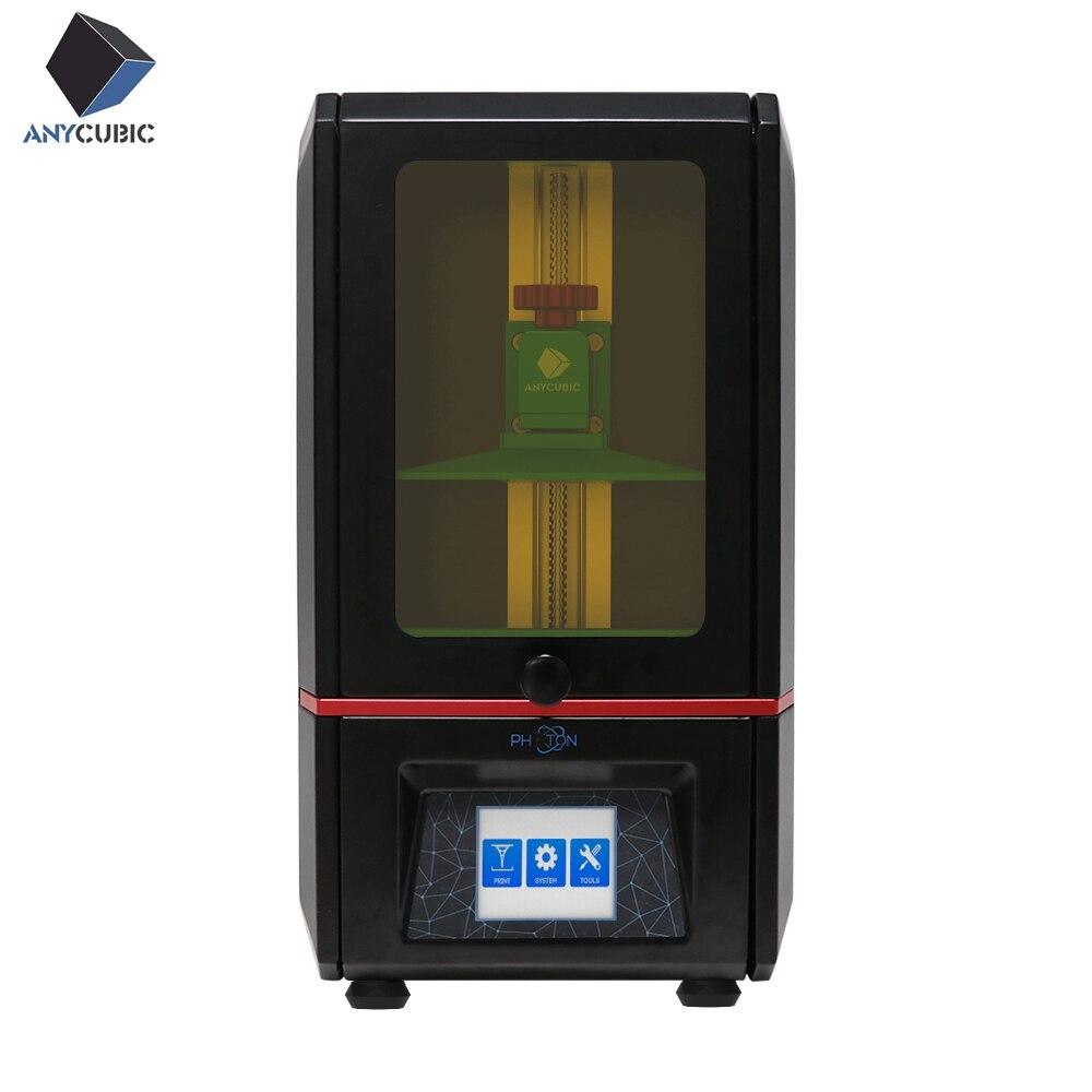 Fóton ANYCUBIC de impressora UV Impressora 3d SLA 3D LCD 2.8 ''Luz fóton Slicer-Cura Impresora de Desktop da Tela de Toque imprimante 3d