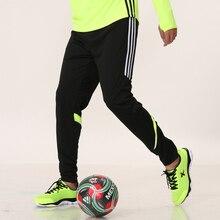 Футбольные тренировочные штаны для взрослых, детские футбольные спортивные штаны, спортивные штаны для бега, фитнеса, футбольные штаны