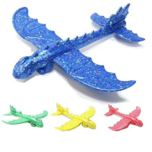48 см DIY пенопластовый самолет динозавр модель ручной бросок самолет наполнители Летающий планер самолеты наружные игрушки для детей дети мальчики подарок