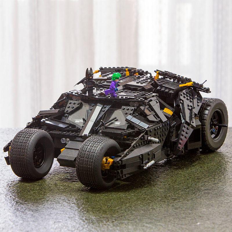 LEPIN 07060 The Tumbler Batman Armored Chariot Batmobile Set Super Hero Movie Series Building Block Bricks Toys 76023 Boys Gifts lepin 07060 super series heroes movie the batman armored chariot set diy model batmobile building blocks bricks children toys