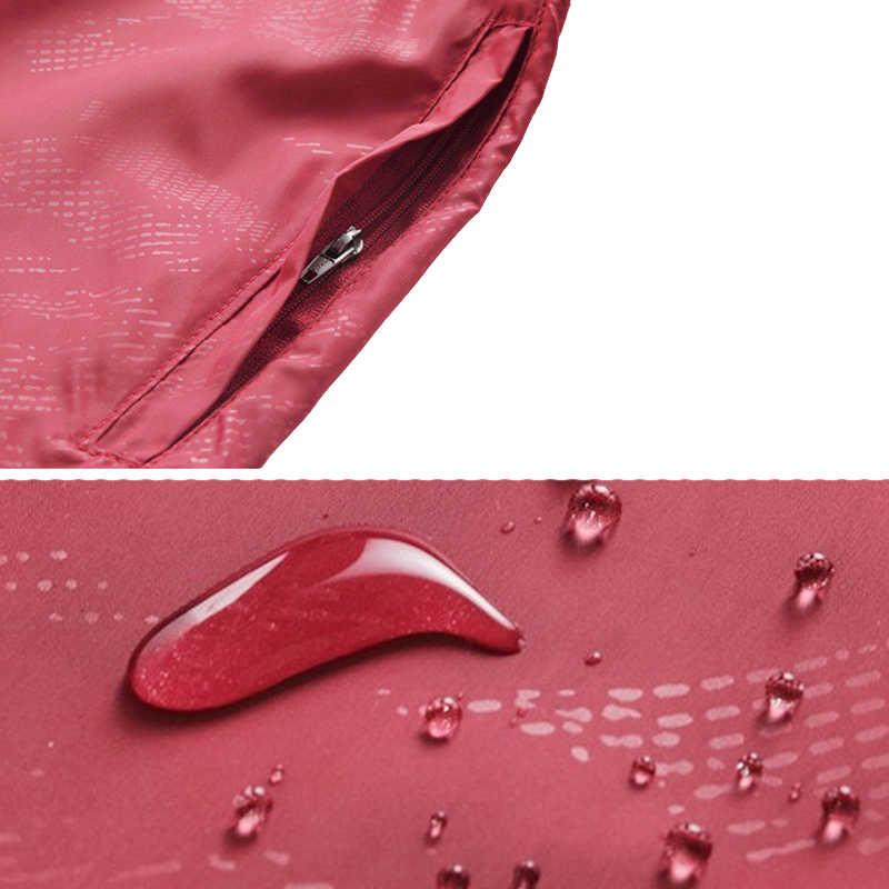 С капюшоном куртка-ветровка куртка Для мужчин Для женщин Сверхлегкий анти-УФ куртка кожа Открытый спортивный Быстросохнущий Солнцезащитная ветровка туристическая