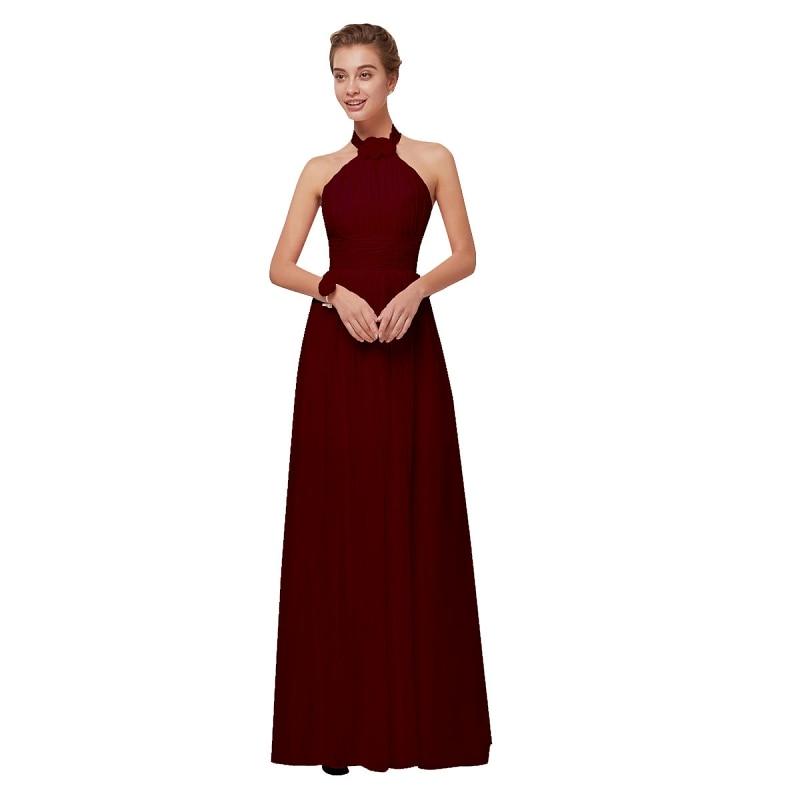 beleza emily borgonha chiffon vestidos de dama 04