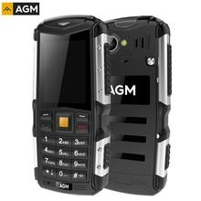 AGM M1 тройной проверки телефон IP68 Водонепроницаемый пыле ударопрочный 2570 мАч Батарея SC7701 сети 3 г Dual SIM FM TF