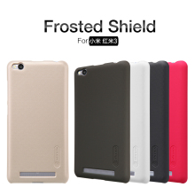 Case For  XIAOMI RedMi 3 NILLKIN Super Frosted Shield Back Cover For  RedMi3 With Free Screen Protector + Retailed Package